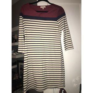 Monteau Dresses - NWT Faux Suede Long Sleeved Dress